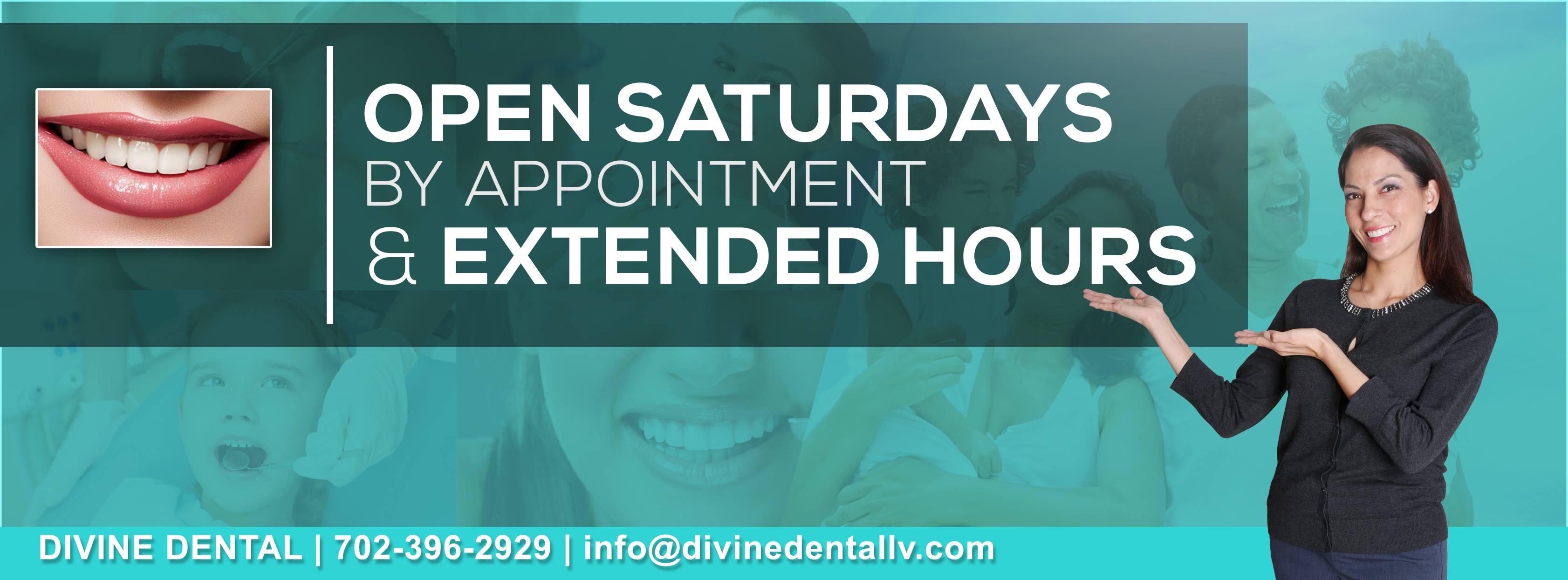Divine Dental Open Saturdays